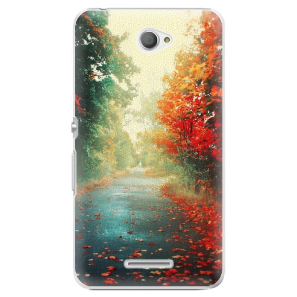 Plastové pouzdro iSaprio - Autumn 03 - Sony Xperia E4