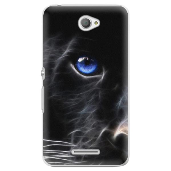 Plastové pouzdro iSaprio - Black Puma - Sony Xperia E4