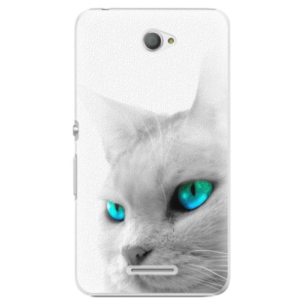 Plastové pouzdro iSaprio - Cats Eyes - Sony Xperia E4