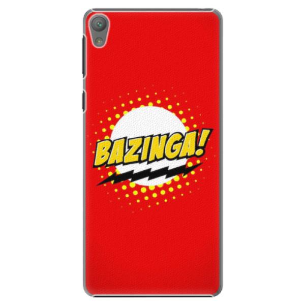 Plastové pouzdro iSaprio - Bazinga 01 - Sony Xperia E5