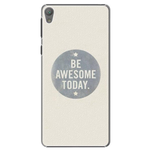 Plastové pouzdro iSaprio - Awesome 02 - Sony Xperia E5