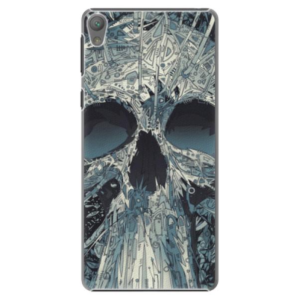 Plastové pouzdro iSaprio - Abstract Skull - Sony Xperia E5