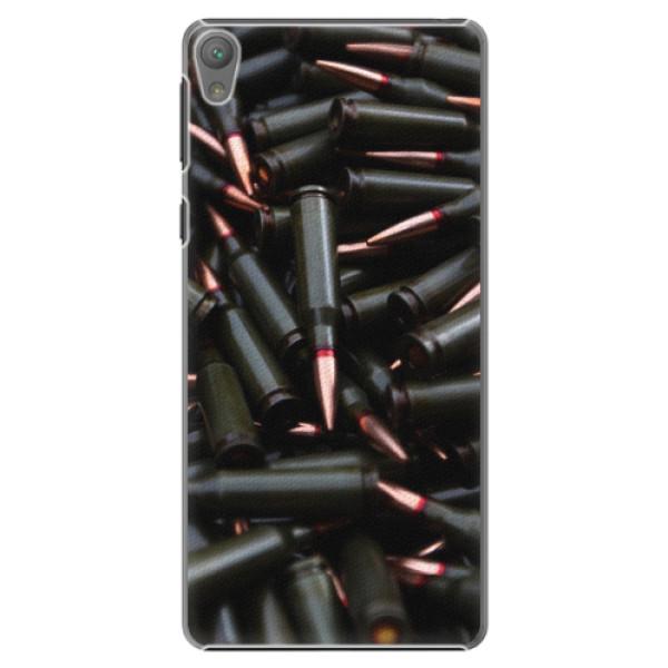 Plastové pouzdro iSaprio - Black Bullet - Sony Xperia E5