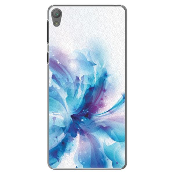 Plastové pouzdro iSaprio - Abstract Flower - Sony Xperia E5