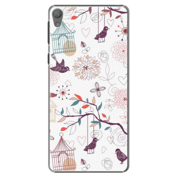 Plastové pouzdro iSaprio - Birds - Sony Xperia E5