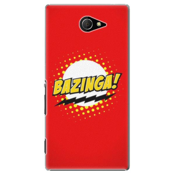 Plastové pouzdro iSaprio - Bazinga 01 - Sony Xperia M2