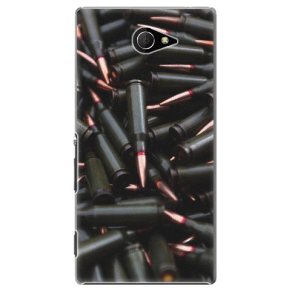Plastové pouzdro iSaprio - Black Bullet - Sony Xperia M2