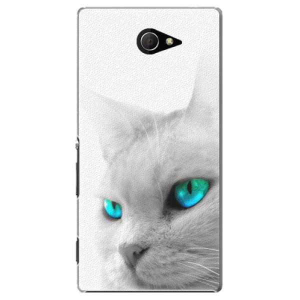 Plastové pouzdro iSaprio - Cats Eyes - Sony Xperia M2