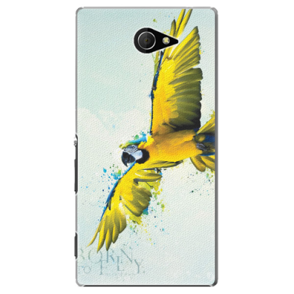 Plastové pouzdro iSaprio - Born to Fly - Sony Xperia M2