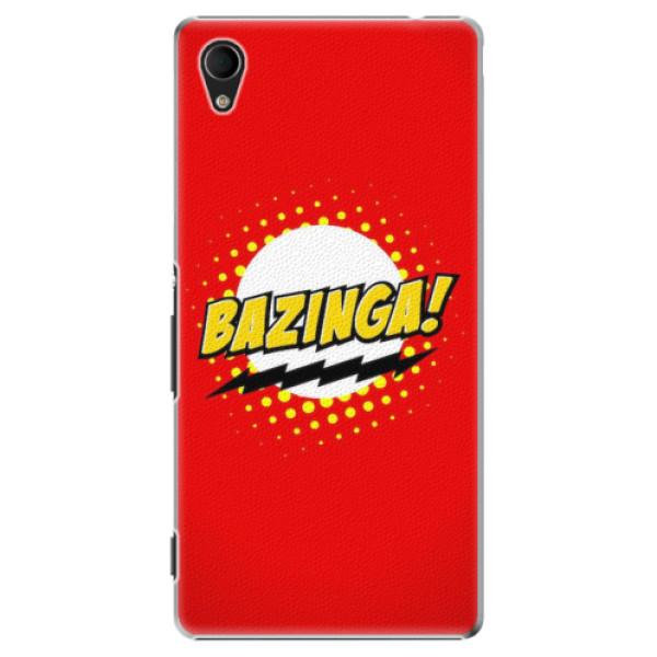 Plastové pouzdro iSaprio - Bazinga 01 - Sony Xperia M4