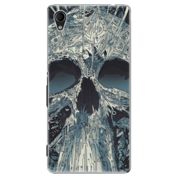 Plastové pouzdro iSaprio - Abstract Skull - Sony Xperia M4