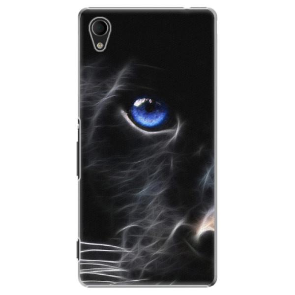 Plastové pouzdro iSaprio - Black Puma - Sony Xperia M4