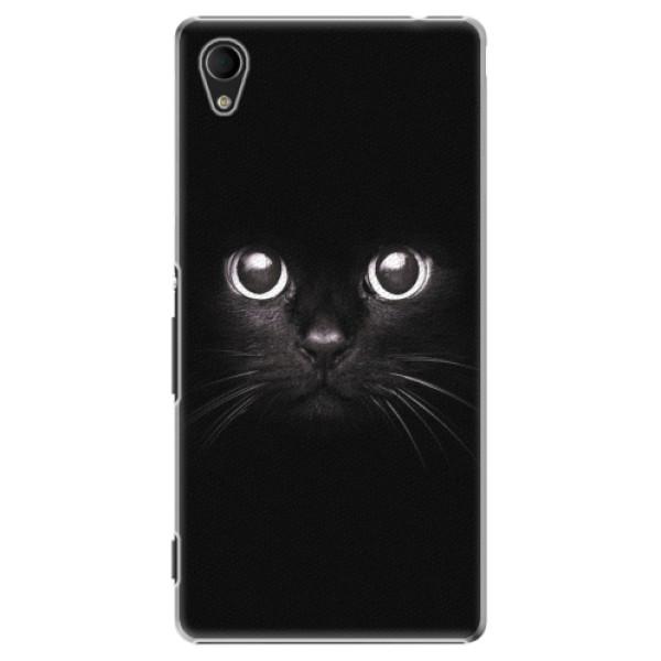 Plastové pouzdro iSaprio - Black Cat - Sony Xperia M4