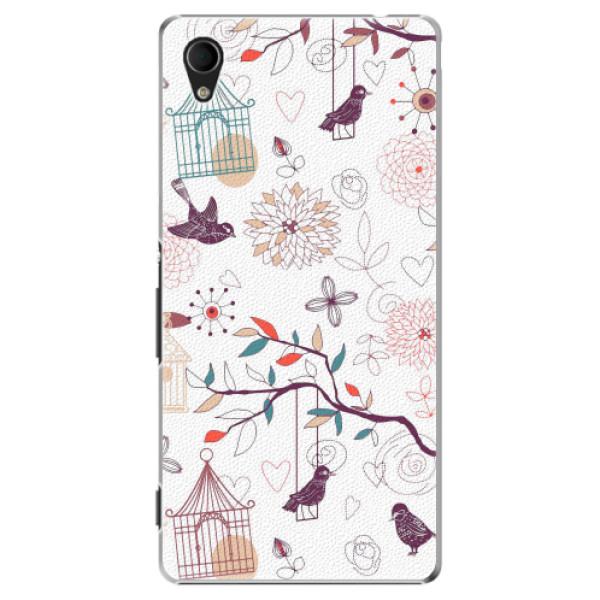 Plastové pouzdro iSaprio - Birds - Sony Xperia M4