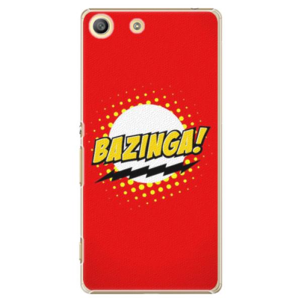 Plastové pouzdro iSaprio - Bazinga 01 - Sony Xperia M5