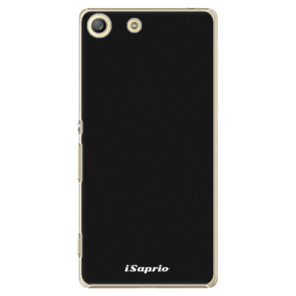 Plastové pouzdro iSaprio - 4Pure - černý - Sony Xperia M5
