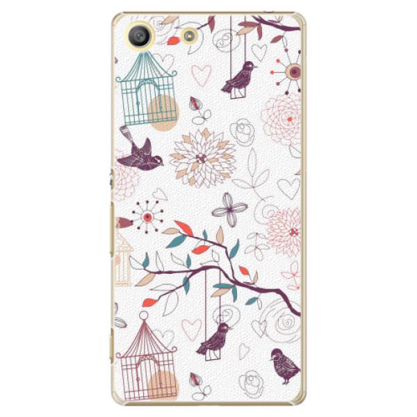 Plastové pouzdro iSaprio - Birds - Sony Xperia M5