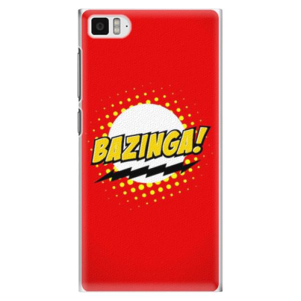 Plastové pouzdro iSaprio - Bazinga 01 - Xiaomi Mi3