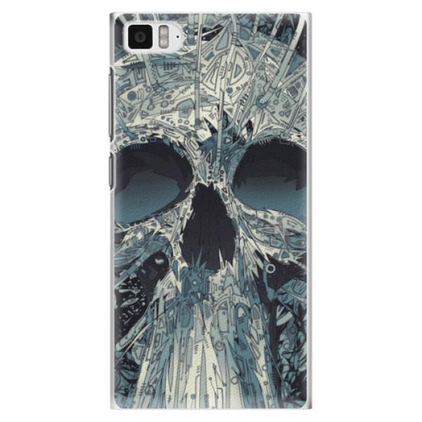 Plastové pouzdro iSaprio - Abstract Skull - Xiaomi Mi3
