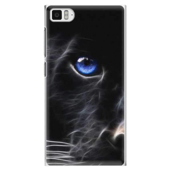 Plastové pouzdro iSaprio - Black Puma - Xiaomi Mi3
