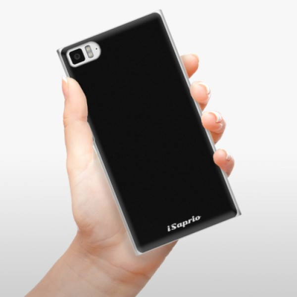 Plastové pouzdro iSaprio - 4Pure - černý - Xiaomi Mi3