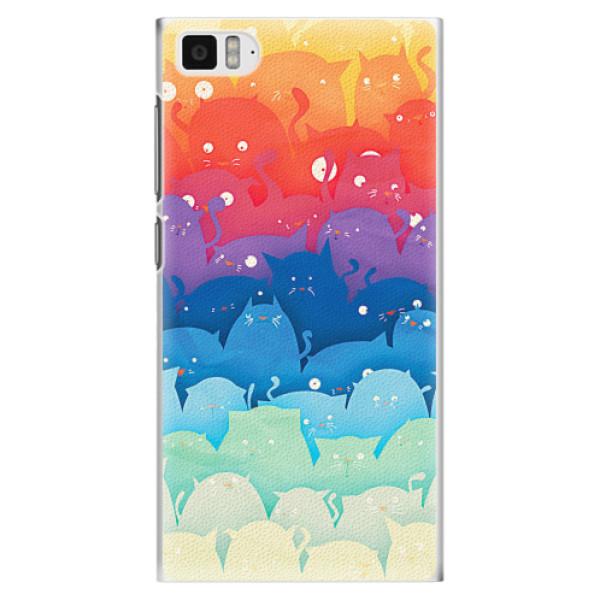 Plastové pouzdro iSaprio - Cats World - Xiaomi Mi3