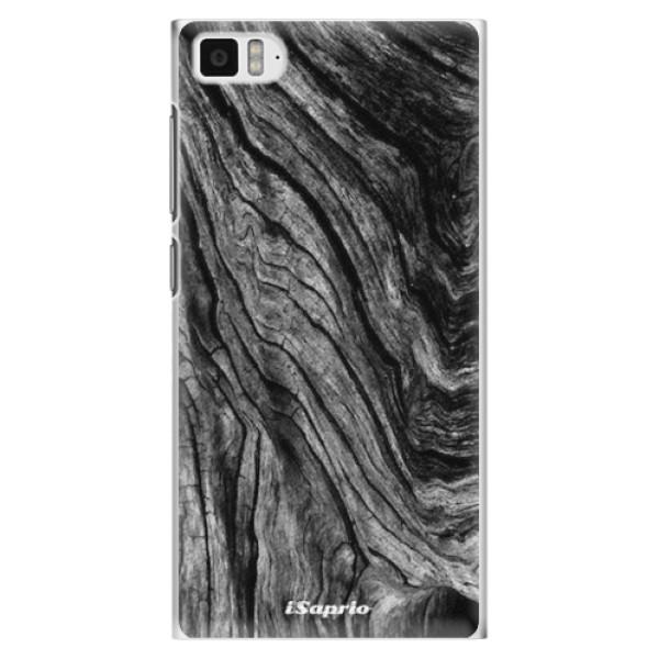 Plastové pouzdro iSaprio - Burned Wood - Xiaomi Mi3