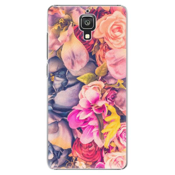 Plastové pouzdro iSaprio - Beauty Flowers - Xiaomi Mi4