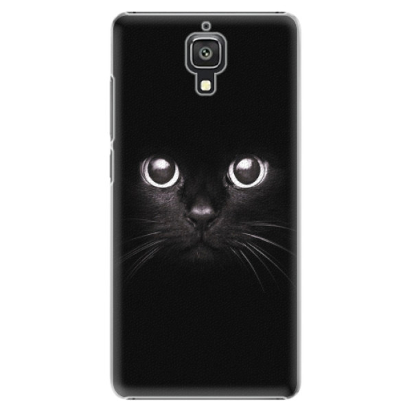 Plastové pouzdro iSaprio - Black Cat - Xiaomi Mi4