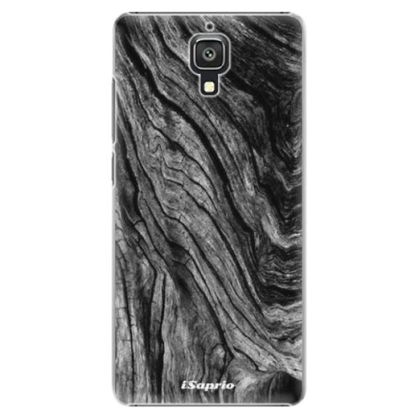 Plastové pouzdro iSaprio - Burned Wood - Xiaomi Mi4