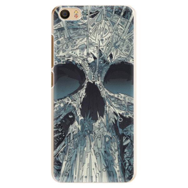 Plastové pouzdro iSaprio - Abstract Skull - Xiaomi Mi5