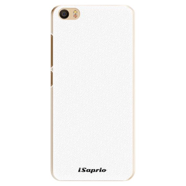 Plastové pouzdro iSaprio - 4Pure - bílý - Xiaomi Mi5