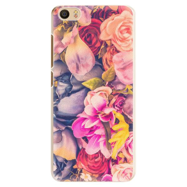 Plastové pouzdro iSaprio - Beauty Flowers - Xiaomi Mi5