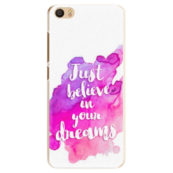 Plastové pouzdro iSaprio - Believe - Xiaomi Mi5