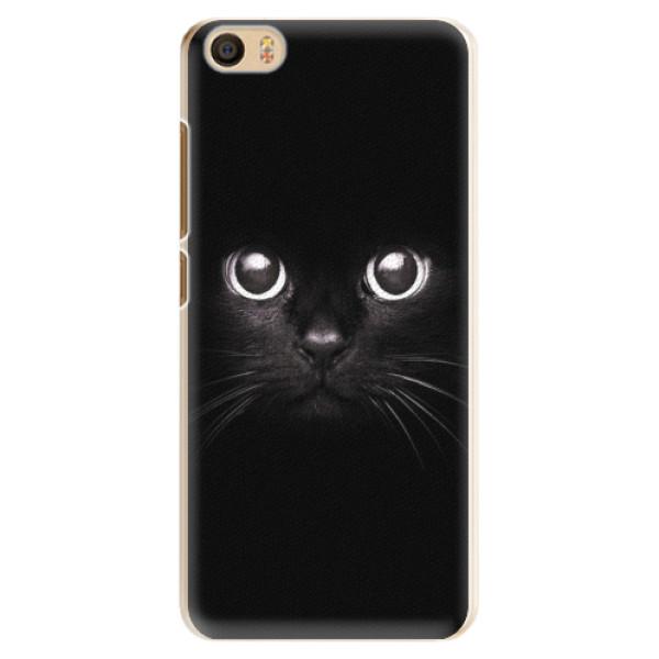 Plastové pouzdro iSaprio - Black Cat - Xiaomi Mi5