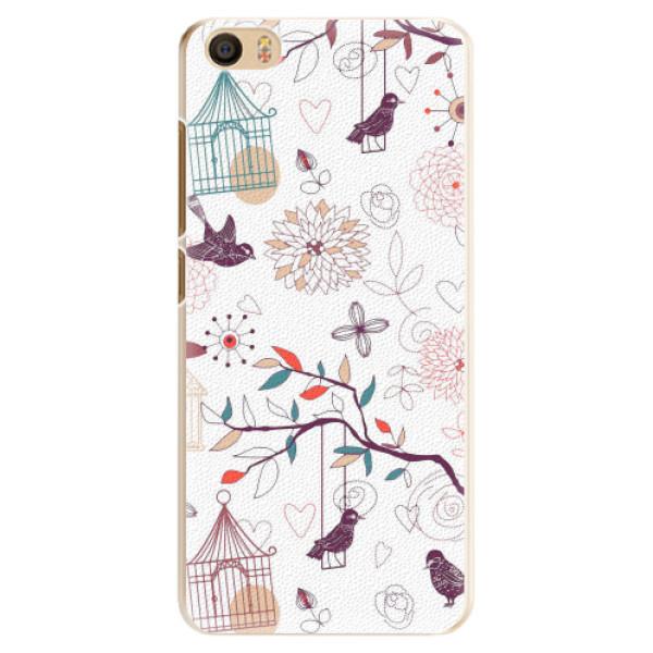 Plastové pouzdro iSaprio - Birds - Xiaomi Mi5