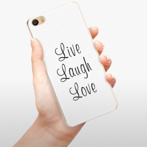 Plastové pouzdro iSaprio - Live Laugh Love - Xiaomi Mi5