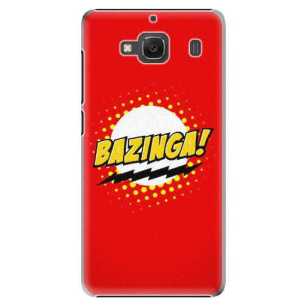 Plastové pouzdro iSaprio - Bazinga 01 - Xiaomi Redmi 2