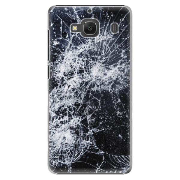 Plastové pouzdro iSaprio - Cracked - Xiaomi Redmi 2