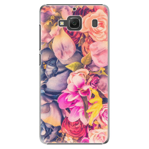 Plastové pouzdro iSaprio - Beauty Flowers - Xiaomi Redmi 2