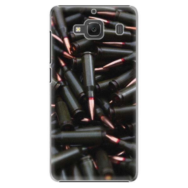 Plastové pouzdro iSaprio - Black Bullet - Xiaomi Redmi 2