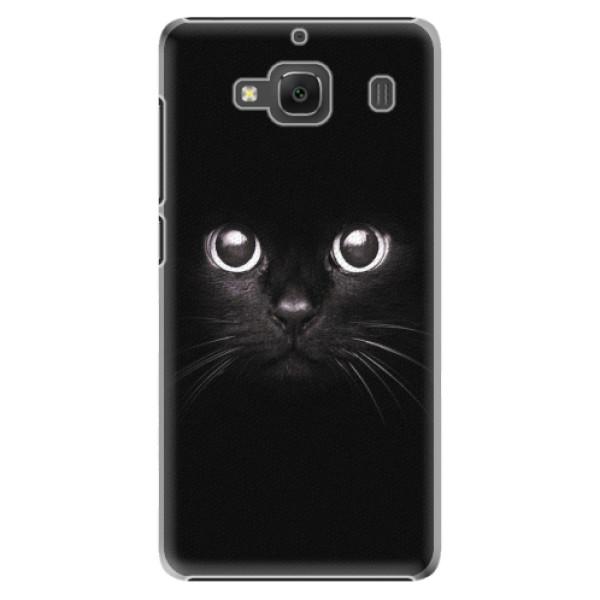 Plastové pouzdro iSaprio - Black Cat - Xiaomi Redmi 2