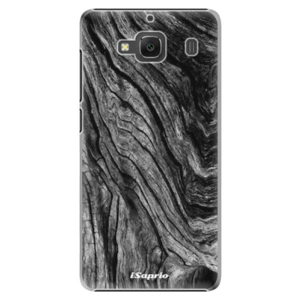 Plastové pouzdro iSaprio - Burned Wood - Xiaomi Redmi 2