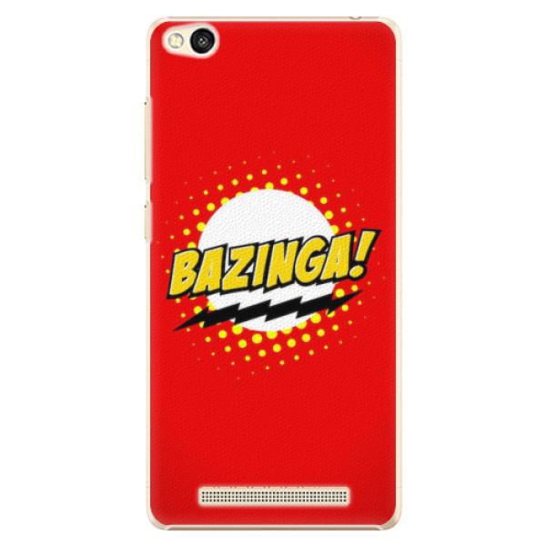 Plastové pouzdro iSaprio - Bazinga 01 - Xiaomi Redmi 3