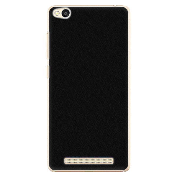Plastové pouzdro iSaprio - 4Pure - černý - Xiaomi Redmi 3