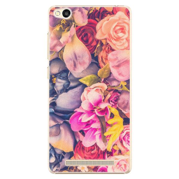 Plastové pouzdro iSaprio - Beauty Flowers - Xiaomi Redmi 3