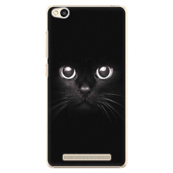 Plastové pouzdro iSaprio - Black Cat - Xiaomi Redmi 3
