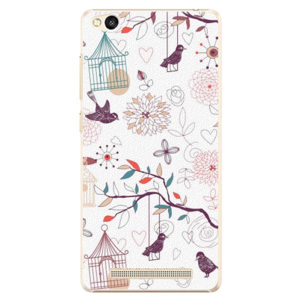 Plastové pouzdro iSaprio - Birds - Xiaomi Redmi 3