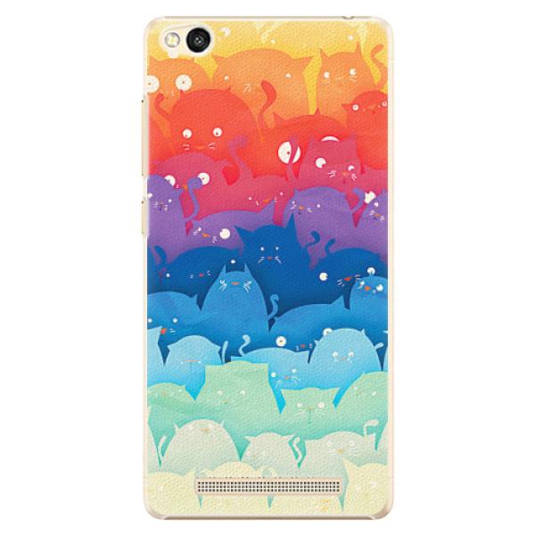 Plastové pouzdro iSaprio - Cats World - Xiaomi Redmi 3