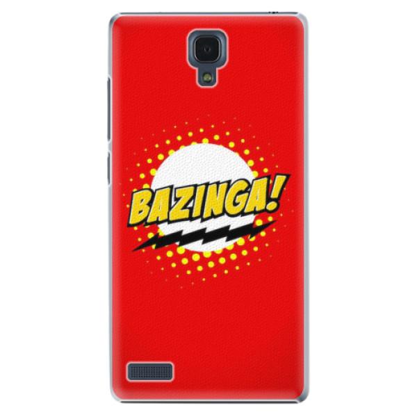 Plastové pouzdro iSaprio - Bazinga 01 - Xiaomi Redmi Note